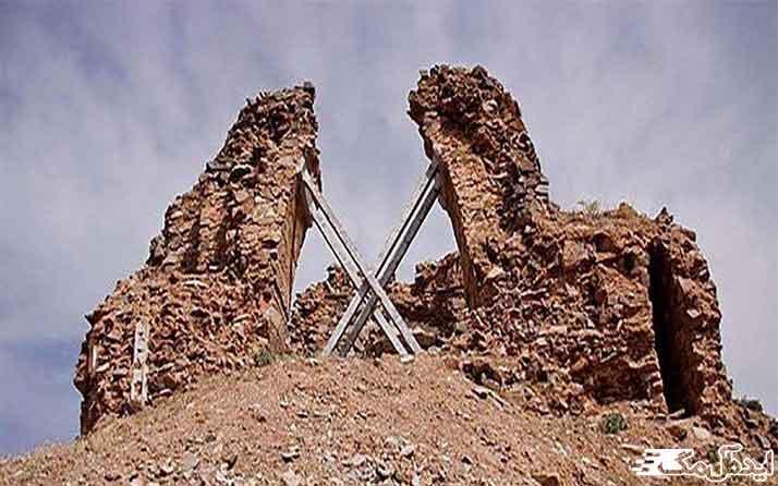 آتشکده آذر برزین مهر از جاذبه های گردشگری داورزن