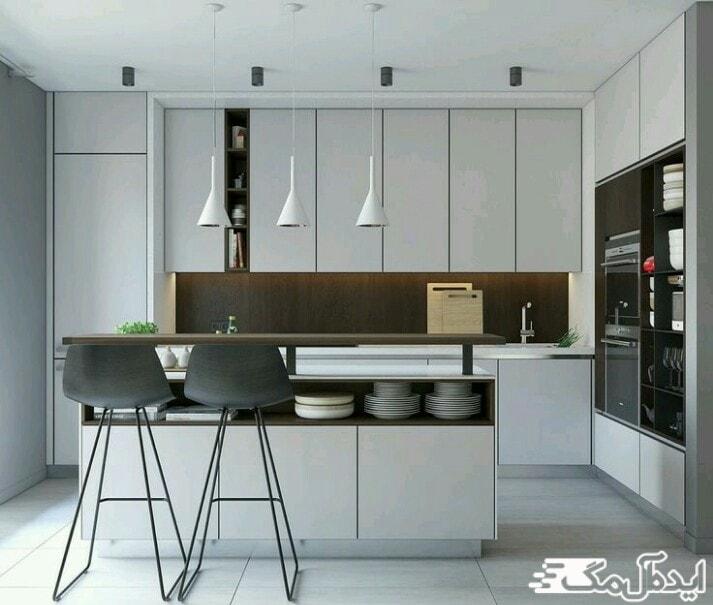 طراحی مینیمال در آشپزخانه ها