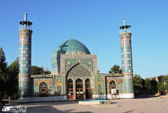 جاذبه های گردشگری درگز ؛ امامزاده محمد دیباج