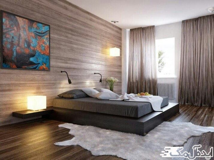 مبلمان و دیزاین اتاق خواب