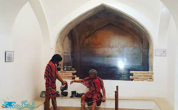 حمام تاریخی و موزه مردم شناسی فردوس
