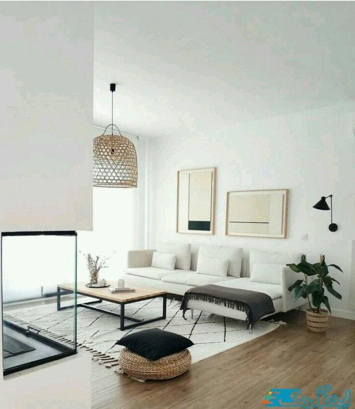 اتاق های نشیمن به سبک مینیمال