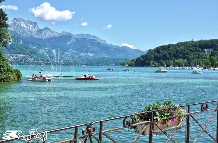 دریاچه سنت کروا در فرانسه