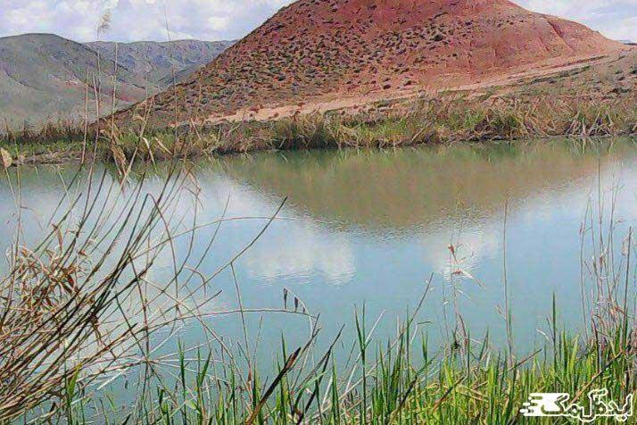 دریاچه سی سر از جاذبه های گردشگری فیروزه