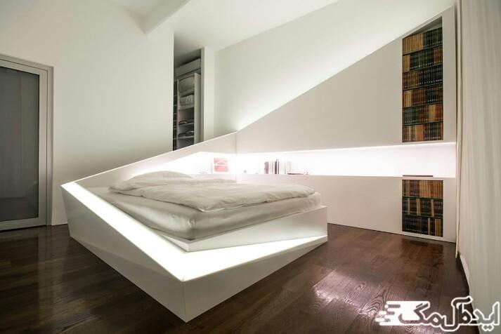 نقش تکنولوژی در دیزاین اتاق خواب ها