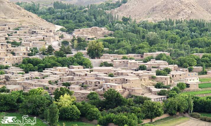 روستای طبس از دیدنی های خوشاب