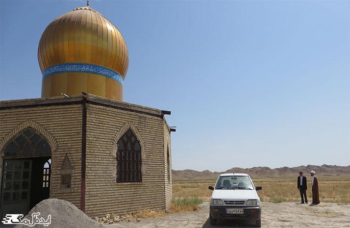 جاذبه های گردشگری درگز ؛ زیارتگاه سید قاضی سلطان