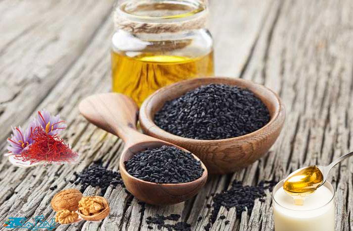 سیاه دانه و زعفران