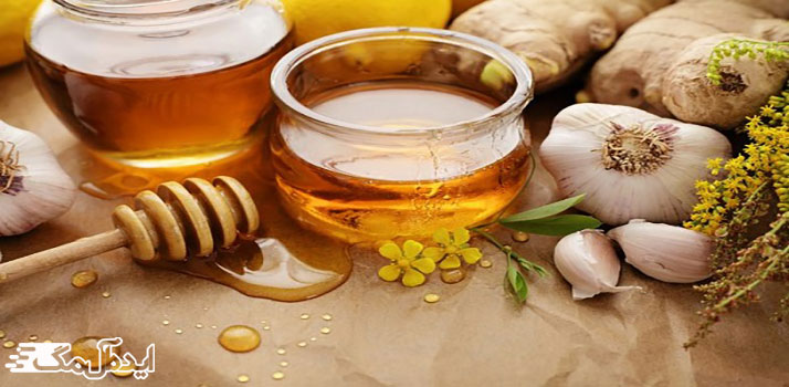 درمان گرفتگی عروق قلب در طب سنتی ؛ ترکیب سیر و عسل