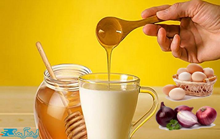 درمان ناباروری در طب سنتی با شیر و پیاز