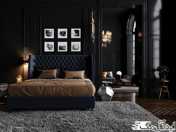 عناصر اصلی در دیزاین اتاق خواب