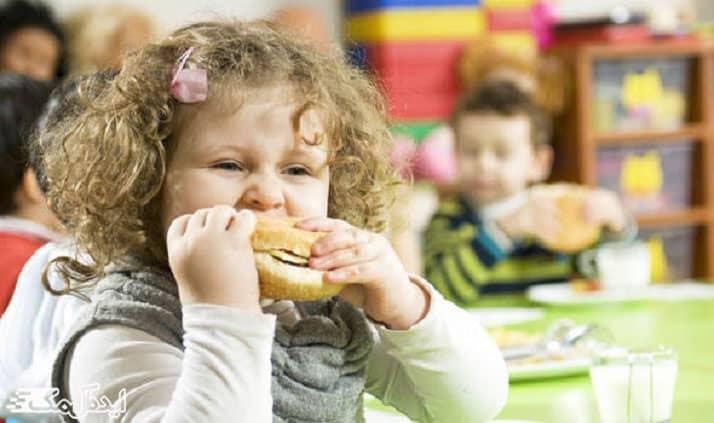 عادات بد غذایی کودکان
