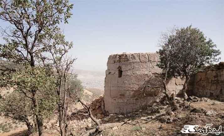 عکس تزئینی قلعه اسماعیل آباد