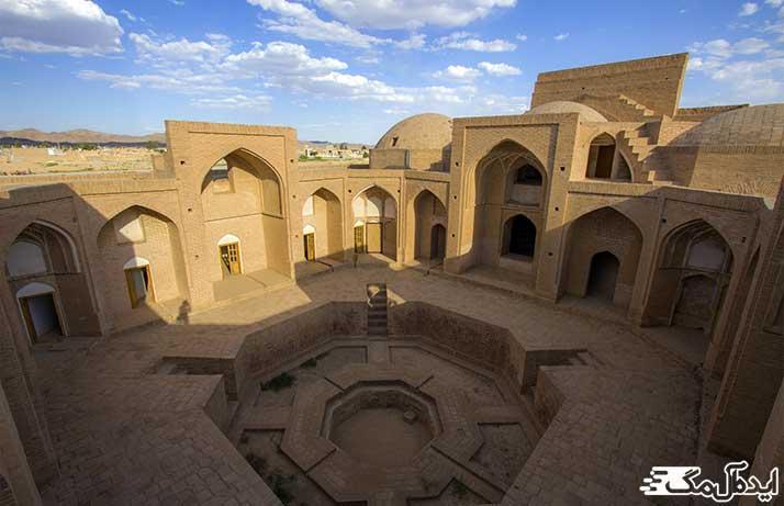 مکان تاریخی مدرسه علیمه علیا