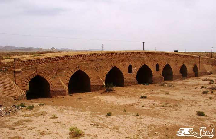پل تاریخی سالار از امامن گردشگری رشتخوار