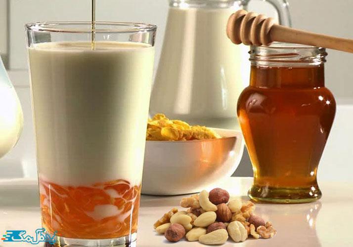 درمان ناباروری با طب سنتی با ترکیب پودر پسته، پودر گردو، بادام زمینی، عسل و شیر