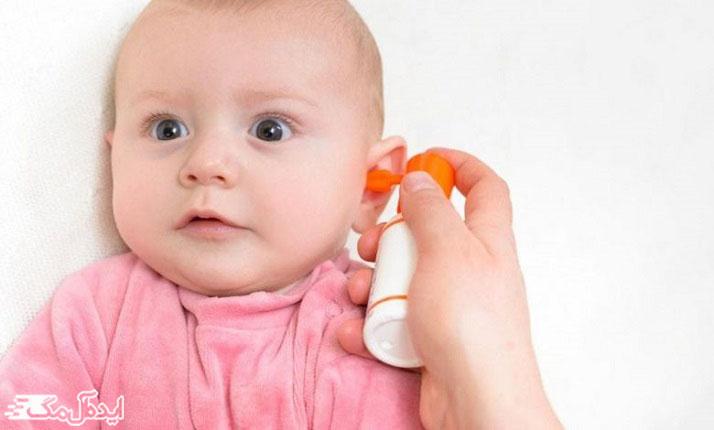 موم گوش کودک