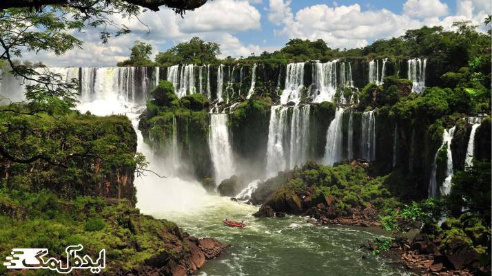 آبشار ایگوازو از منظره های زیبای دنیا
