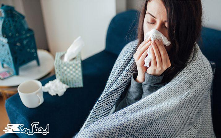 تاثیر عصاره برگ زیتون بر درمان سرماخوردگی