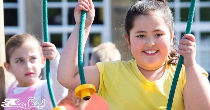 کاهش وزن در کودکان