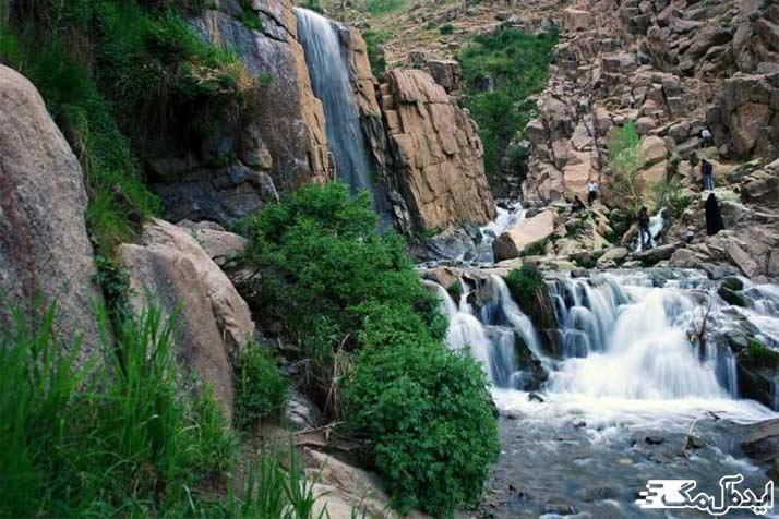 آبشارهای دره سبز رود؛ از جاذبه های طبیعی سرایان