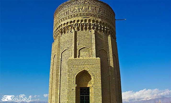 برج طغرل از بناهای تاریخی دامغان
