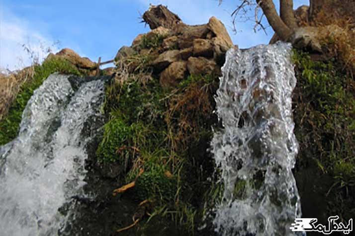 آبشار سر برج از جاذبه های طبیعی