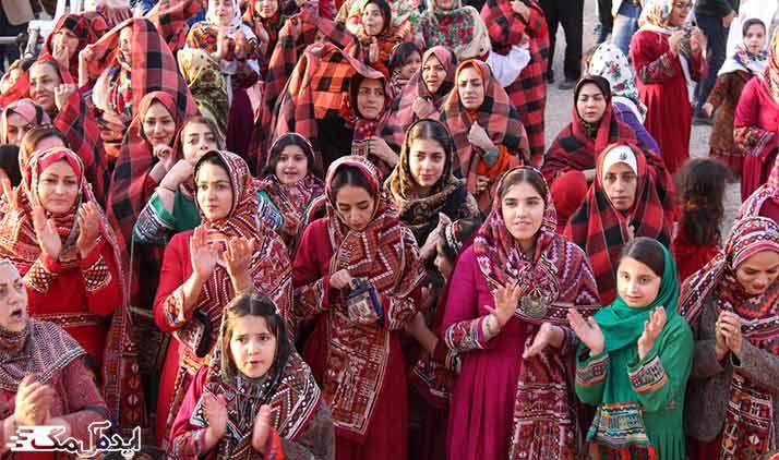 جشنواره ملی عشایر ایل سنگسر