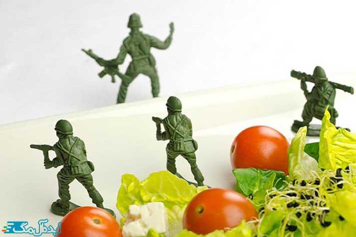 رژیم غذایی لاغری نظامی