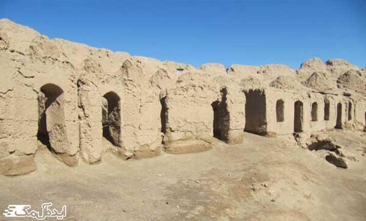 قلعه تاریخی رحمانیه از اماکن دیدنی بردسکن