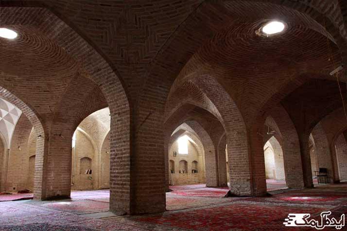 مسجد جامع تاریخی شهر دامغان