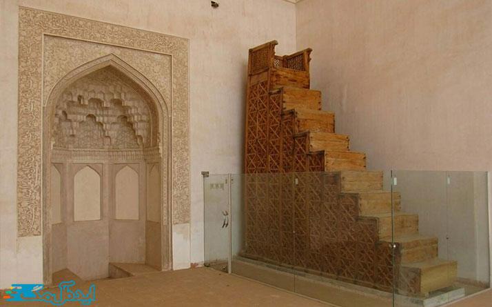 مسجد جامع سه قلعه مکان تاریخی سرایان