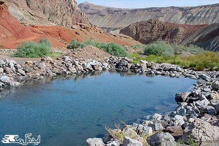 چشمه آبگرم مهدی شهر