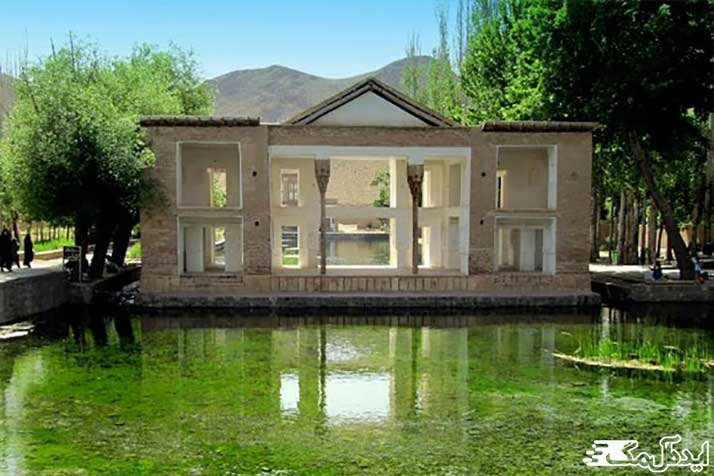 چشمه علی از جاذبه های گردشگری دامغان