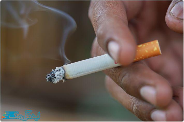 تاثیر استعمال دخانیات بر گرفتگی عروق