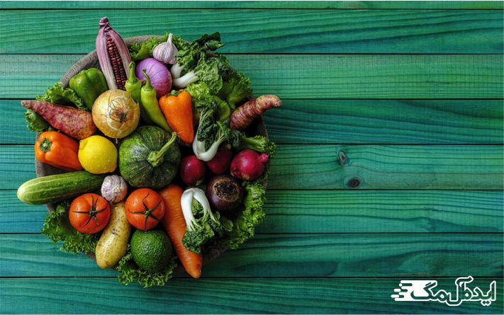 از رژیم غذایی سالم و متعادل استفاده کنید