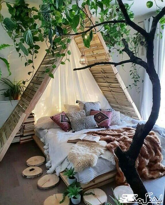 طبیعت را به اتاق خود بیاورید