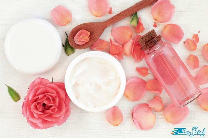 گلاب برای مراقبت و نگهداری از پوست صورت چرب