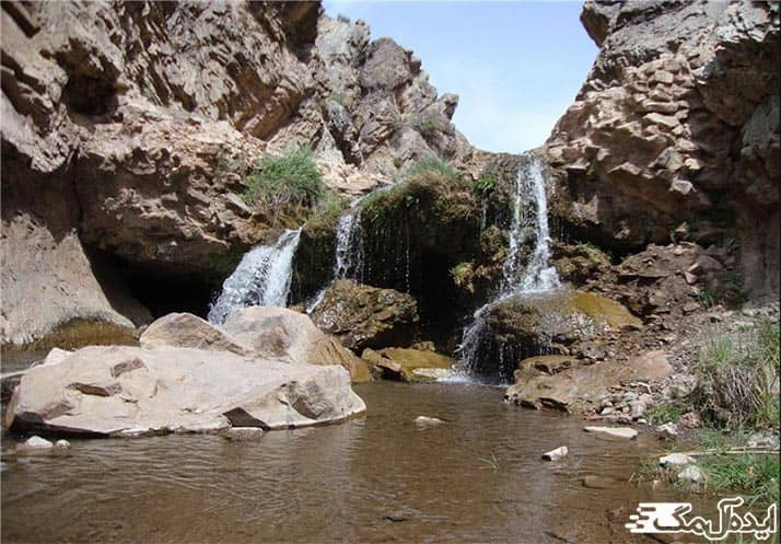 آبشار علی آباد رشتخوار