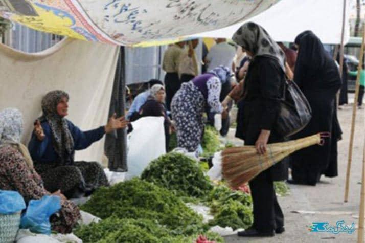 بازار هفتگی لنگرود