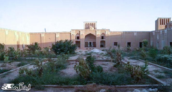 باغ خان بشرویه از جاذبه های گردشگری بشرویه