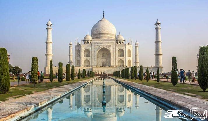 بنای تاریخی تاج محل هند