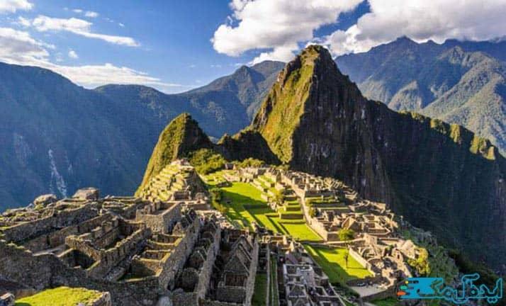 شهر ماچوپیچو در پرو