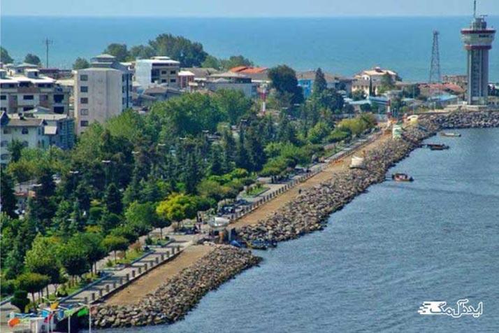 بلوار ساحلی قدس بندر انزلی