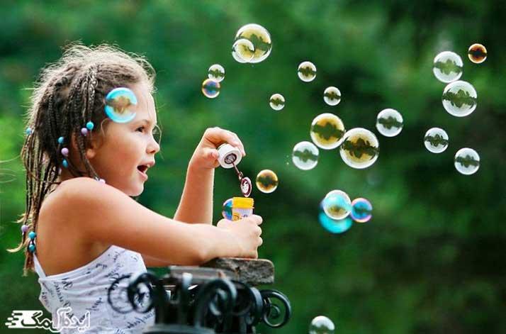 چگونگی تشکیل حباب ها