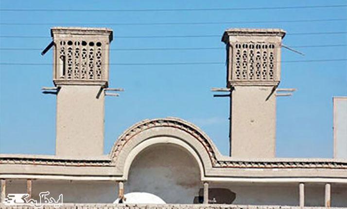 خانه حشمت خان از دیدنی های شهر سرخه