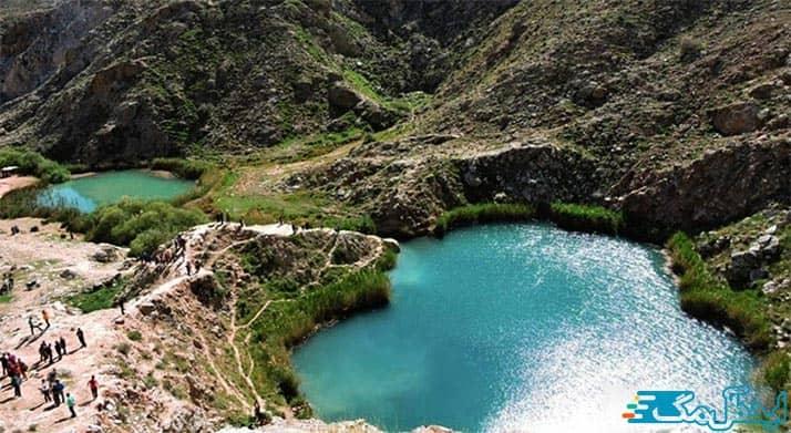 دریاچه دو خواهران آمل