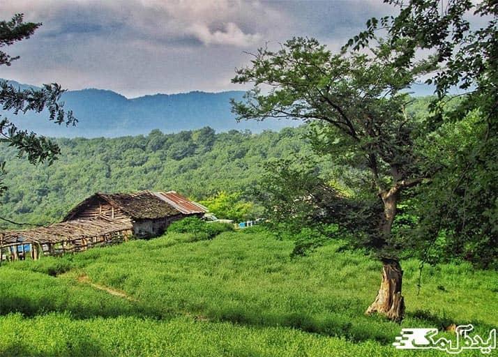 روستای بلیرلن آمل