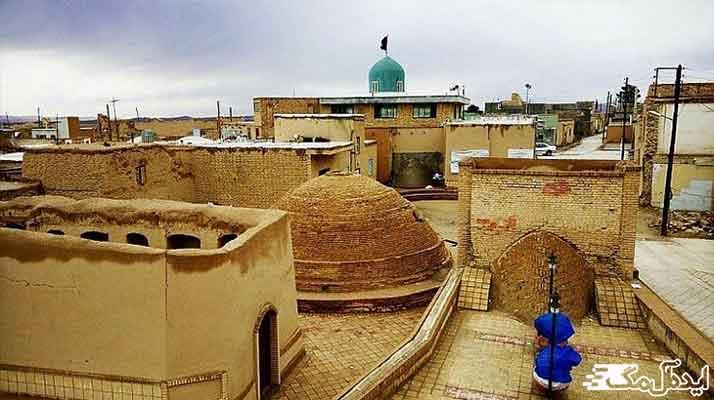 روستای بیابانک از مکان های دیدنی سرخه