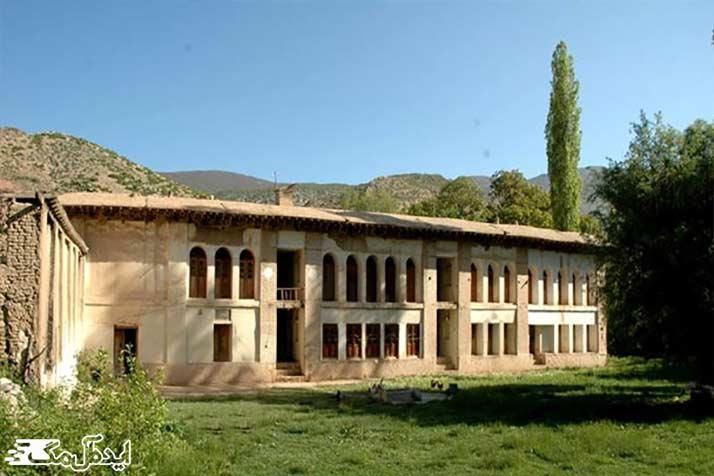 عمارت تاریخی ابراهیم خان- شکارگاه ملاده